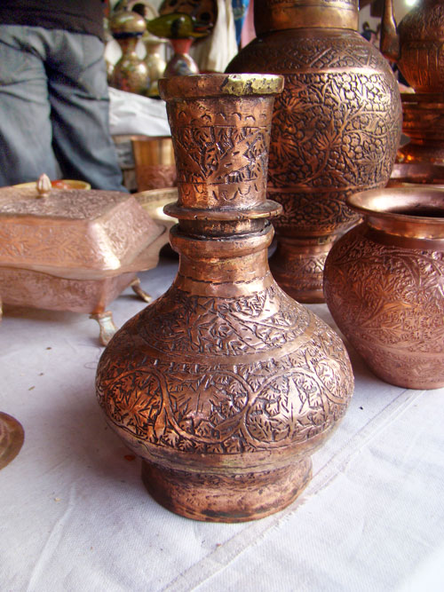Kashmir copper crafts