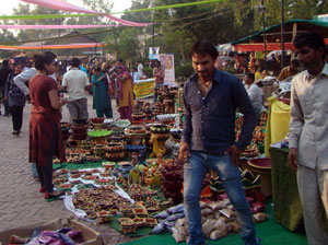 shoping-at-delhi-haat